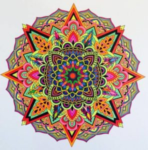 Colouring Mandalas (for Charity) @ The Middle Pillar