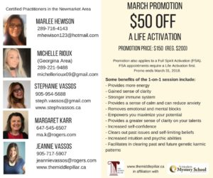 March LIFE ACTIVATION Promotion - $50 OFF