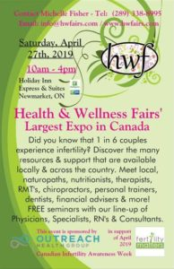 Health & Wellness Fair - in Support of Fertility Matters. @ Holiday Inn Express & Suites