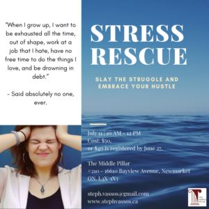 Stress Rescue @ The Middle Pillar