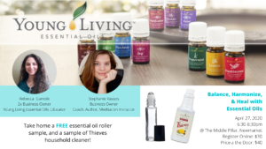 (Tentative) Balance, Harmonize and Heal with Essential Oils @ The Middle Pillar